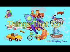 Preschool Learning - Things That Go! - Littlestorybug