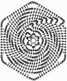 Häkelmuster Fundgrube: Shirt aus Spiral-Grannies
