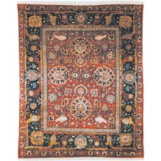 Safavieh Hand-knotted Peshawar Vegetable Dye Red/ Navy Wool Rug (5' x 8') | Overstock™ Shopping - Great Deals on Safavieh 5x8 - 6x9 Rugs
