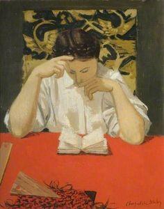 La liseuse de Roger Chapelain-Midy (1904-1992)  #ARTEmisiaLegge - @LibriamoTutti