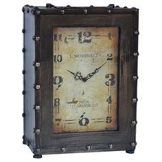 Crestview Rustic Clock CVCKA585