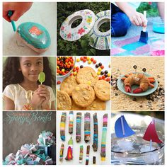 Summer fun ideas for the kids.