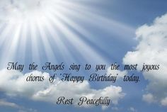 Image Result For Happy Birthday To A Friend In Heaven Birthday
