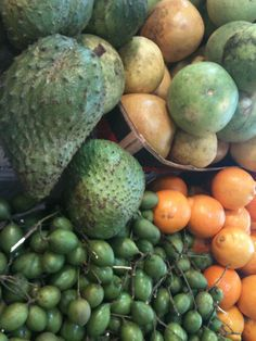 Tropical Fruits from My Enchanted Island, Puerto Rico