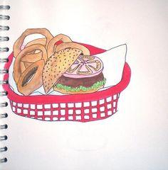Burger Basket by imlauren, via Flickr