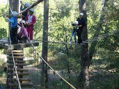Disfrutad de la naturaleza en el parque de aventuras Saltapins - Juntines.com
