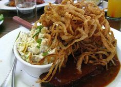 """A little goodie from """"Screen Door"""" in Portland, Oregon just named one of the top 10 restaurants in the country by """"Trip Advisor."""""""