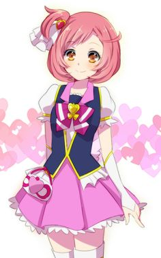 Naru as Cure Lovely - Pretty Rhythm Rainbow Live/ Happiness Charge Pretty Cure