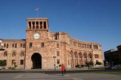 Hotel Armenia-- the hub of Yerevan