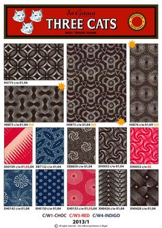Shweshwe fabric from South Africa African Inspired Fashion, African Fashion, Three Cats, Best Wordpress Themes, African Fabric, South Africa, Textiles, Quilts, Patterns