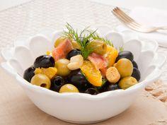 Olivový šalát s pomarančom