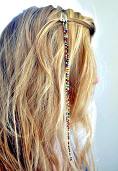 10 cute DIY hair accessories for girls! made accessories for girls 10 Easy To Make Hair Accessories For Girls - Ducks 'n a Row Cute Diy Hair Accessories, Girls Accessories, Summer Hairstyles, Cute Hairstyles, Hair Beads, Diy For Girls, How To Make Hair, Hair Jewelry, Hair Clips