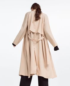 FLOWING TRENCH COAT-Trench Coats-OUTERWEAR-WOMAN | ZARA United States