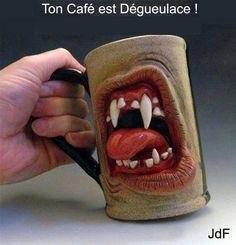 Tasse de café originale