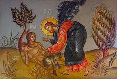Saint John the Baptist – Greek Orthodox Church Religious Icons, Religious Art, Trinidad, Adam Et Eve, Byzantine Art, Orthodox Christianity, John The Baptist, Old Testament, Orthodox Icons