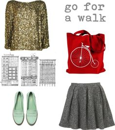 """""""go for a walk"""" by mangosarah on Polyvore"""
