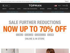 #Topman - Extra 10% off Sale.