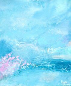 61 cm x 50 cm | Martina Uthardt Framed Fabric, Framed Prints, Waves, Artist, Handmade, Outdoor, Design, Framing Fabric, Outdoors