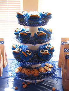 Little Sturg Party: Gracies Cookie Monster Party