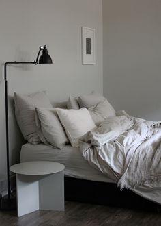 A Merry Mishap: My bedroom redo / darker floors revealed