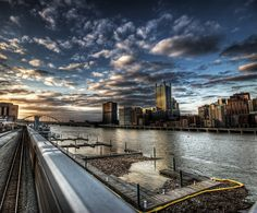 I don't know the photographer, but this is a beautiful picture of Pittsburgh!