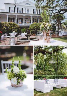 Governor Thomas Bennet House Wedding   Charleston Weddings   The Wedding Row