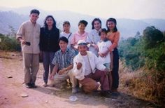 Khem Veasna at Terk Chu (ទឹកឈូរ) in 1994.