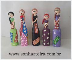 Bonecas de garrafas                                                                                                                                                     Mais