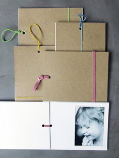 How To Make Memory Books For Father's Day | Shelterness