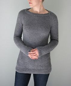 Inspired by a well-loved thermal t-shirt, the Thermal Tunic is a long, cozy pullover worked in a simple, all-over stitch pattern that resembles a waffle-knit thermal fabric. It is constructed from the bottom up in one piece with a raglan yoke, and the boat neck is shaped with short rows. The Thermal Tunic can be worn fitted or sized up for a more relaxed look. This versatile layering piece can be worn under a puffy vest for chilly walks, or paired with leggings for cuddling up with some…