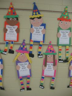 Mrs. Morrow's Kindergarten: Happy New Year!