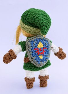 Link Crochet Pattern from The Legend of Zelda by gemugurumi