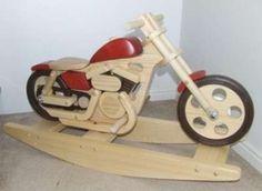 no more old fashioned rocking horses, I need a rocking MOTORBIKE!