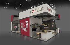"Consulta este proyecto @Behance: ""Häfele Vietbuild 2016 Stand"" https://www.behance.net/gallery/42856555/Haefele-Vietbuild-2016-Stand"