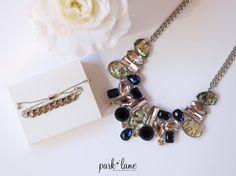 Iridescent Necklace  Kohrs Bracelet  www.parklanejewelry.com/shop  #myparklanestyle #parklanejewelry