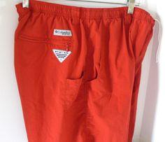 "Columbia PFG Omni Shade Mens Short Size XL 8""L #Columbia #Watershorts"