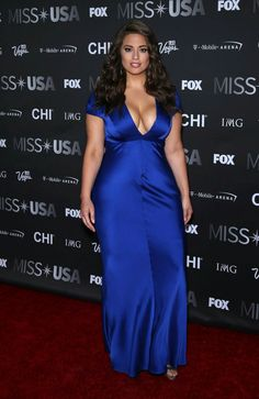 Fashion Model, @ Ashley Graham - 2016 Miss USA pageant in Las Vegas Curvy Fashion, Plus Size Fashion, Ashley Graham Style, Moda Feminina Plus Size, Miss Usa, Girl With Curves, Plus Size Model, Beautiful Curves, Up Girl