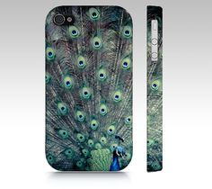 """iPhone 4, iPhone 4S, iPhone 5, Samsung Galaxy S3, Samsung Galaxy S4, Cases - """"His Feathered Majesty"""" on Etsy, $32.00"""