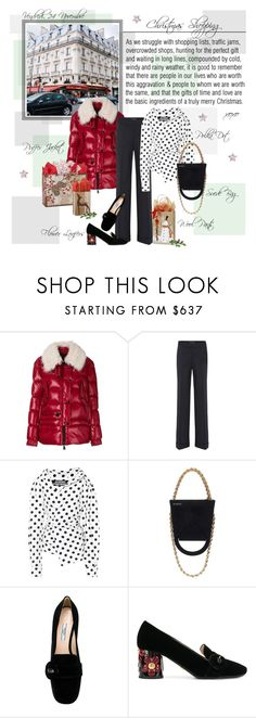 """Mon Style № 161 - 24 November, 2017"" by mon-style-diary ❤ liked on Polyvore featuring Moncler Grenoble, Dolce&Gabbana, Jacquemus, Prada and fashionista88"