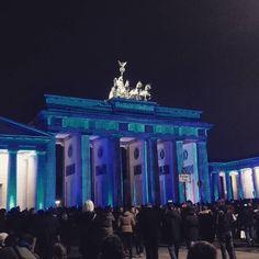 Brama Brandenburska #brandenburgentor #bramabranderburska #berlin #festiwalświatła #festivaloflight
