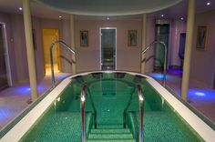 Our luxury thermal suite at #night
