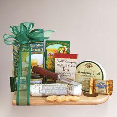 Complete Cheeseboard Gift Basket | World Market