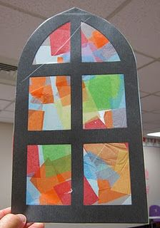great stained glass window activity