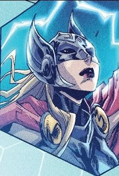 Thor in Mosaic Thor Valkyrie, Lady Thor, Female Thor, The Mighty Thor, Behr, The Fosters, Sonic The Hedgehog, Mosaic, Marvel