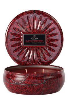 Voluspa 'Vermeil Collection - Clove Pomander' 3-Wick Scented Candle - burning this now!