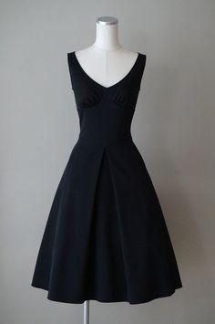 フォクシー フレアーワンピースドレス