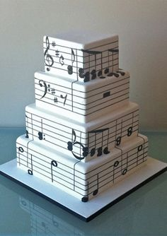 Music notes cake - Jazz Party - Music Themed Party - Smooth Jazz - Feng Shui Your Jazz Party or Sunday Brunch with a Professional Feng Shui Design Consultation at www.DeniseDivineD.com/feng-shui-design - Professional Feng Shui Consultant & Interior Designer