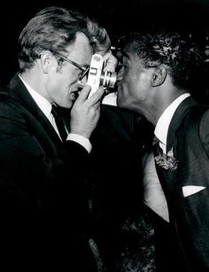 James Dean & Sammy Davis Jr.