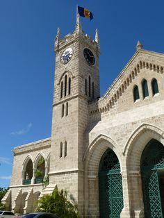Bridgetown, Barbados, capital building