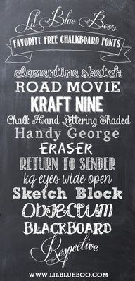 Chalkboard Art! | Creating Keepsakes Blog